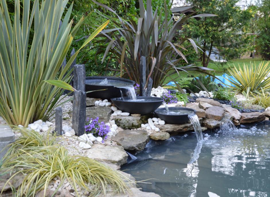 Les derni res r alisation en ext rieur de chloro concept - Bassin jardin japonais grenoble ...